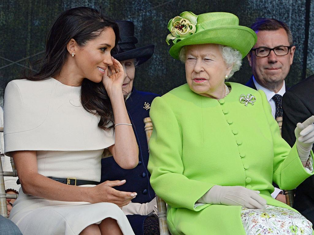 Meghan has said she was poorly prepared for royal life. Picture: Jim Clarke/AFP