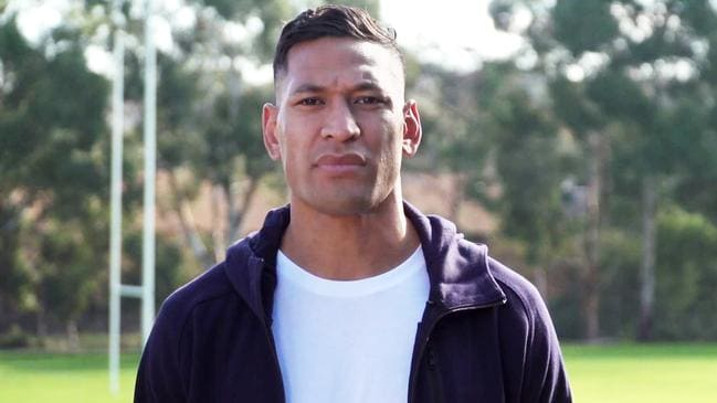 Israel Folau has had his GoFundMe page pulled on Monday.