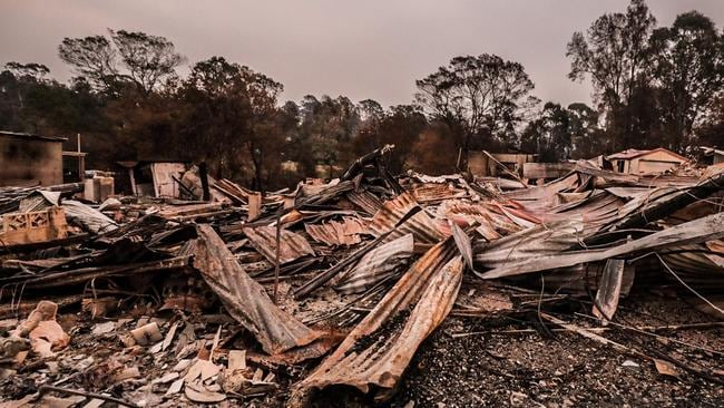 More than 3000 homes have been lost across Australia to the bushfires. Picture: News Regional Media