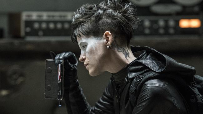 Claire Foy plays Lisbeth Salander in The Girl in the Spider's Web.