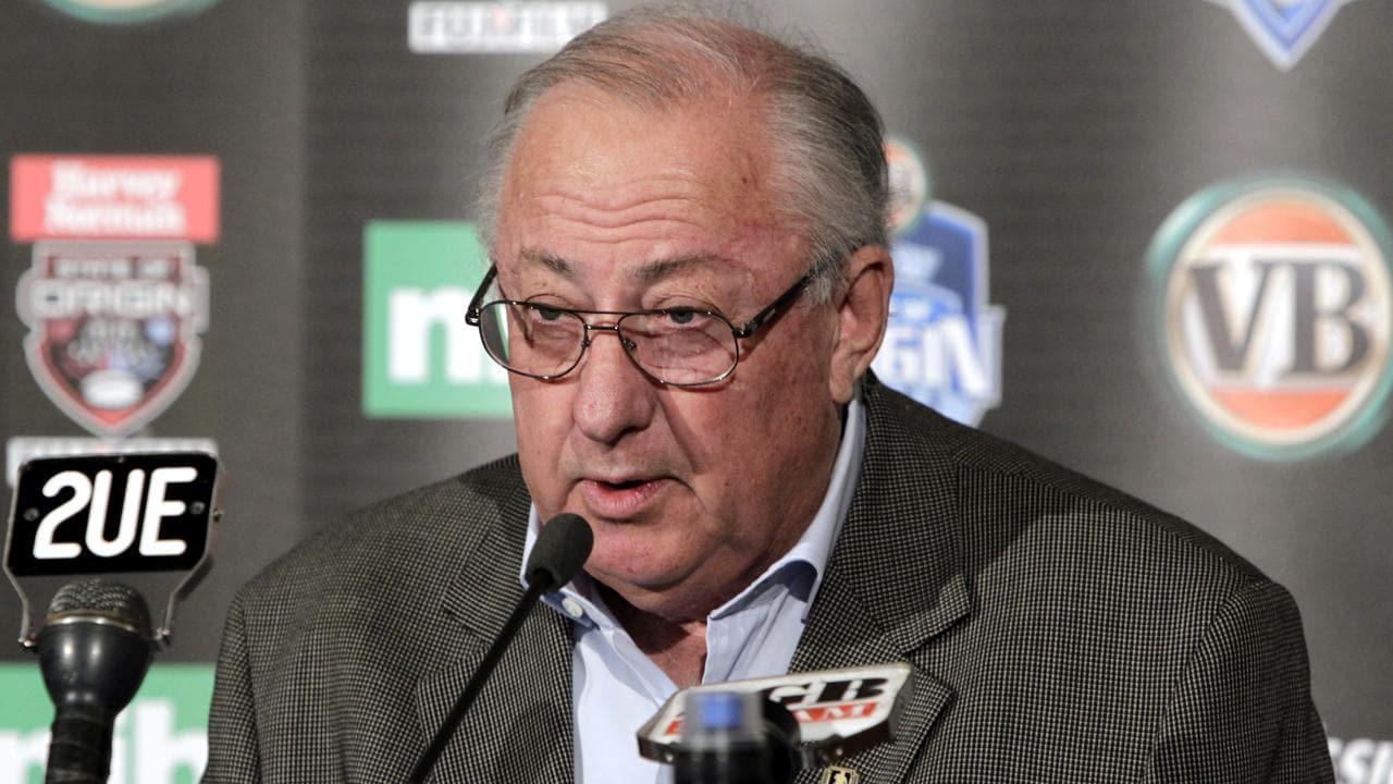 Former NSWRL Chairman John Chalk has passed away.