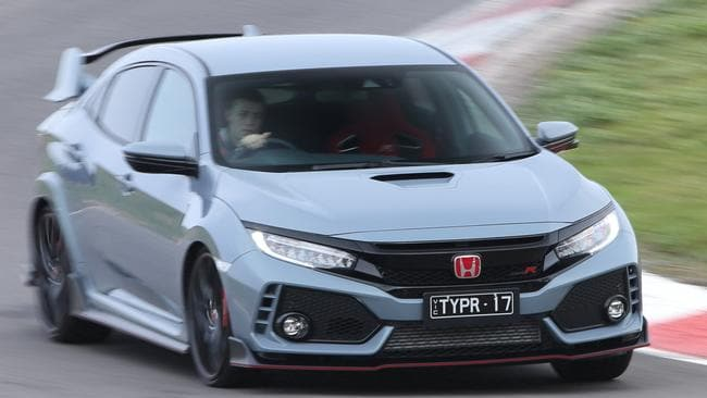 Honda's Civic Type-R is a major contender for the crown. Pic: Supplied.
