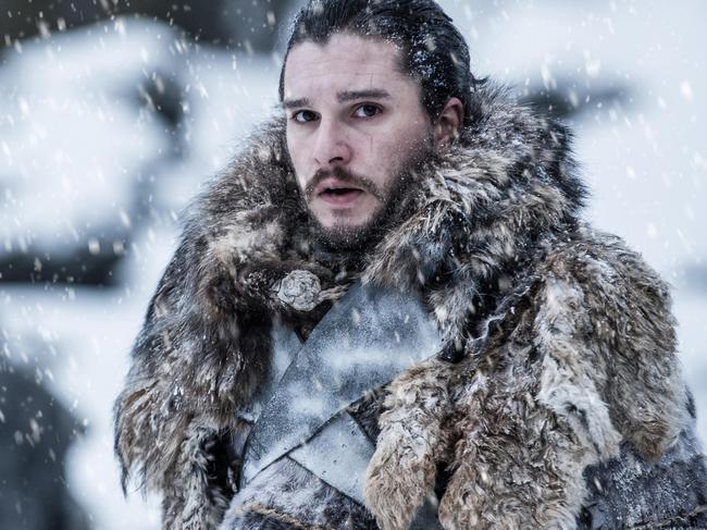 Fans suspect Jon Snow may be the promised prince, and could have to kill Daenerys to save Westeros. Picture: HBO