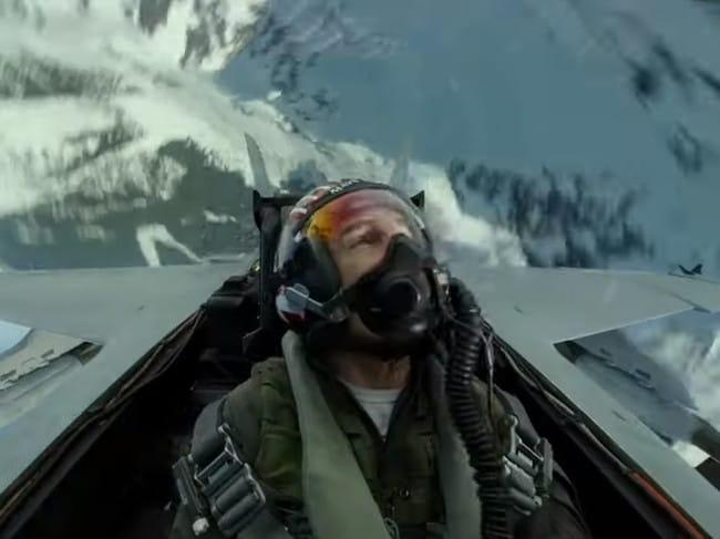 The trailer features exhilarating flight stunts.