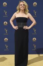 Kate McKinnon arrives at the 70th Primetime Emmy Awards on Monday, Sept. 17, 2018, at the Microsoft Theater in Los Angeles. (Photo by Jordan Strauss/Invision/AP)
