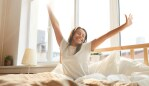 There's no better feeling than waking up refreshed from a good night's sleep. Image: iStock.