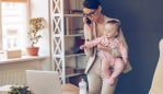 Juggling work and children isn't easy. Image: iStock