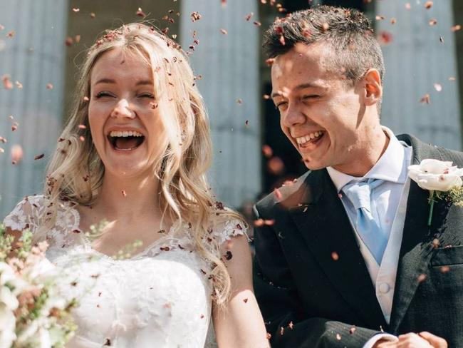 Milly and Toby Savill, who married in 2017, died on holiday in Santorini on April 14 last year.