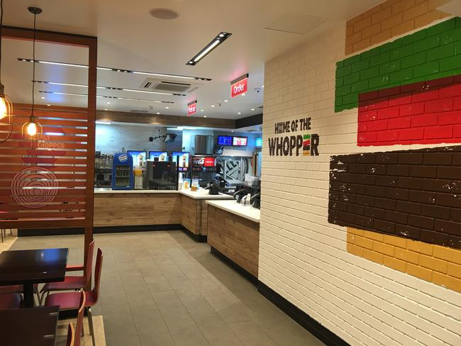 What the new-look Hungry Jack's stores will look like.