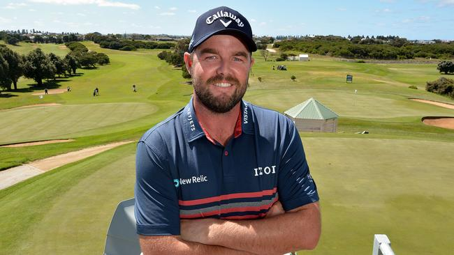 Marc Leishman is excited about Australia being favourite for this week's World Cup of Golf. Picture: Robin Sharrock.