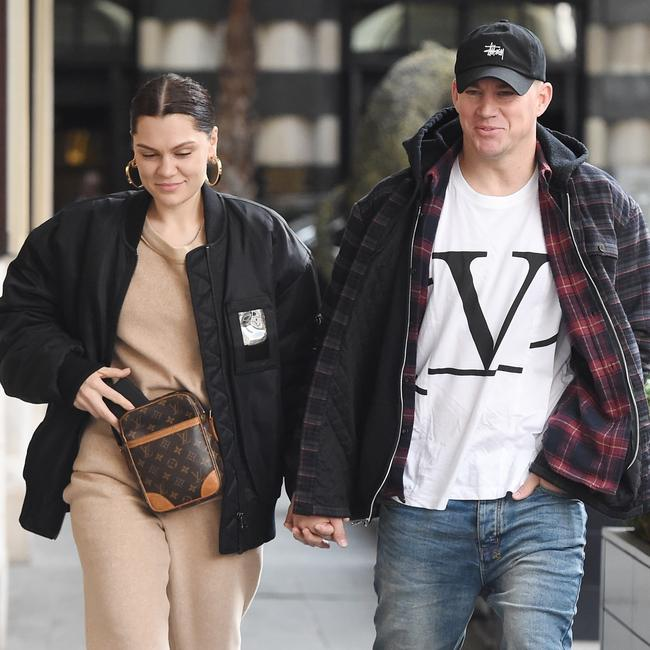 Jessie J and Channing Tatum are an item.