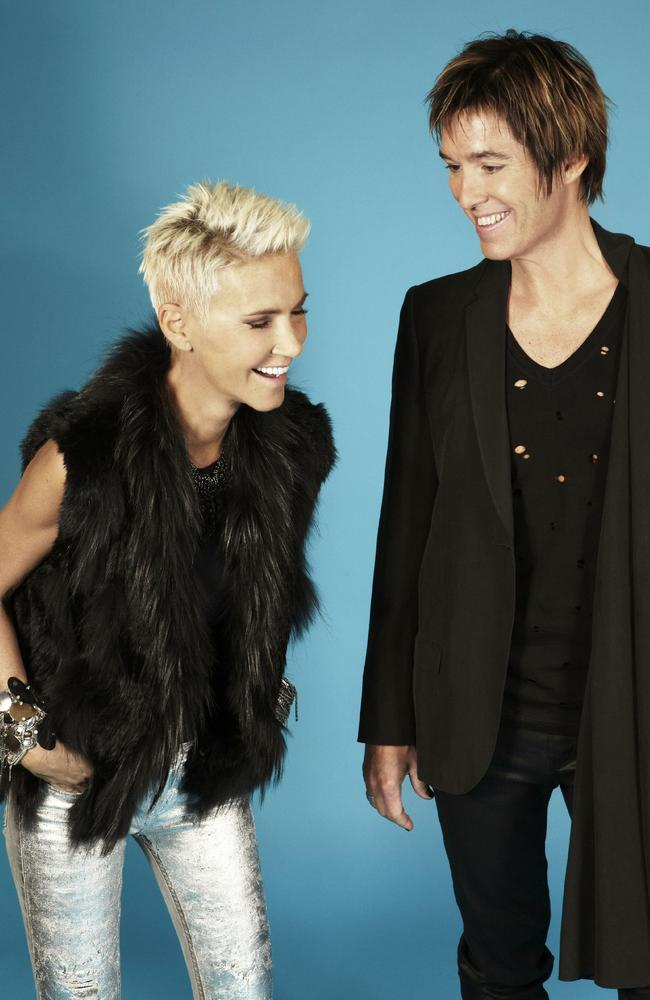 Roxette were hugely popular in Australia. Picture: Supplied