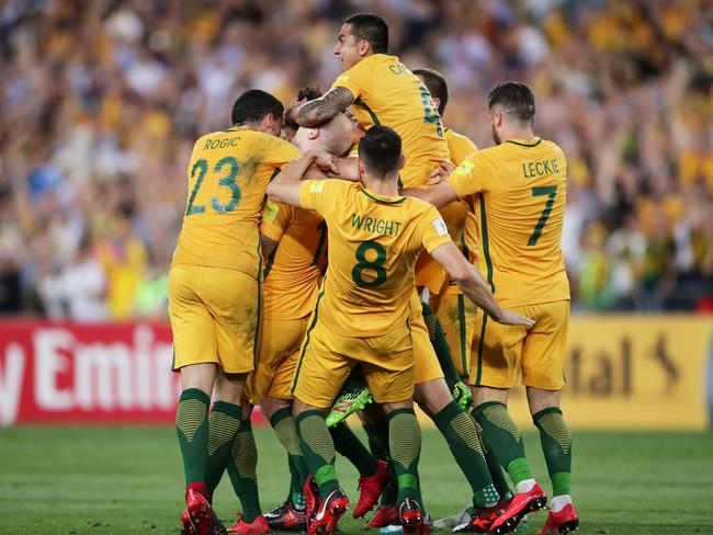 The Socceroos qualified for Russia 2018 after a marathon qualification schedule.