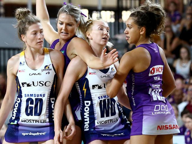 The Super Netball league is just two years old but already a success.
