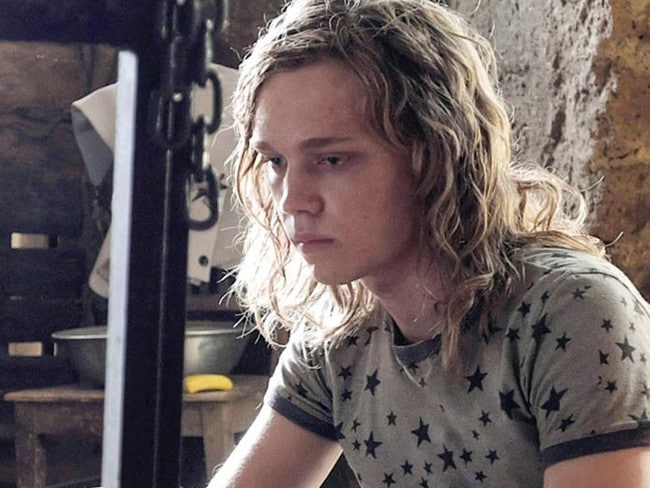 Charlie Plummer as John Paul Getty III in All the Money in the World. Picture: Supplied