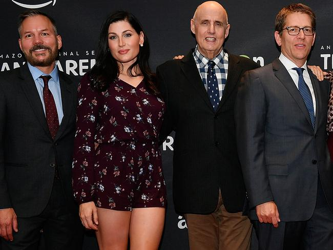 Trace Lysette, second from left, has accused Transparent co-star Jeffrey Tambor of sexual assault. Picture: Getty