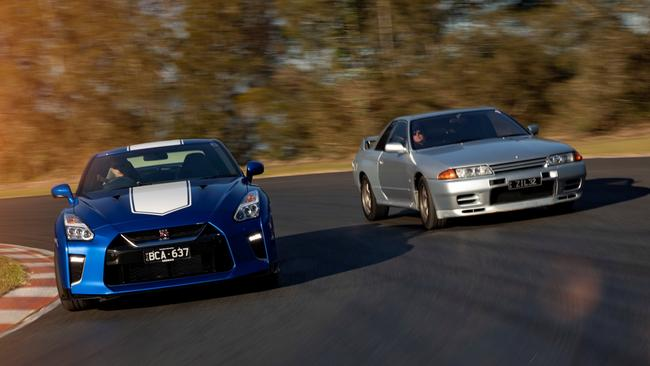 The Nissan GT-R is one of the world's most legendary sports cars.