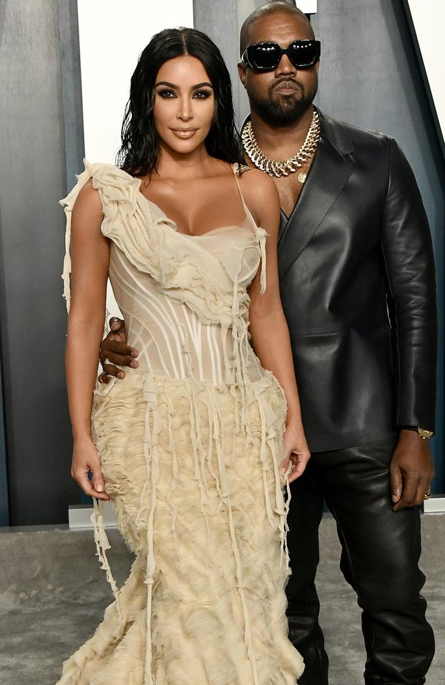 Kim and Kanye are rumoured to be getting divorced. Picture: Getty Images