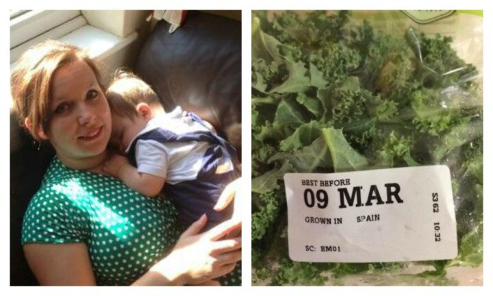 Mum finds condom in packet of kale after serving it to family for dinner