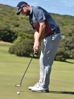 Marc Leishman at the Warrnambool Golf Course. Picture: Robin Sharrock