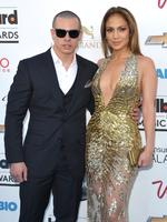 Jennifer Lopez, 46, and Casper Smart, 28, had been together for three years before the couple split in June 2014 after he was accused of cheating. Lopez appears to have rekindled the romance with her former back-up dancer after being spotted together at a pre-Grammys party earlier this year. Picture: AAP