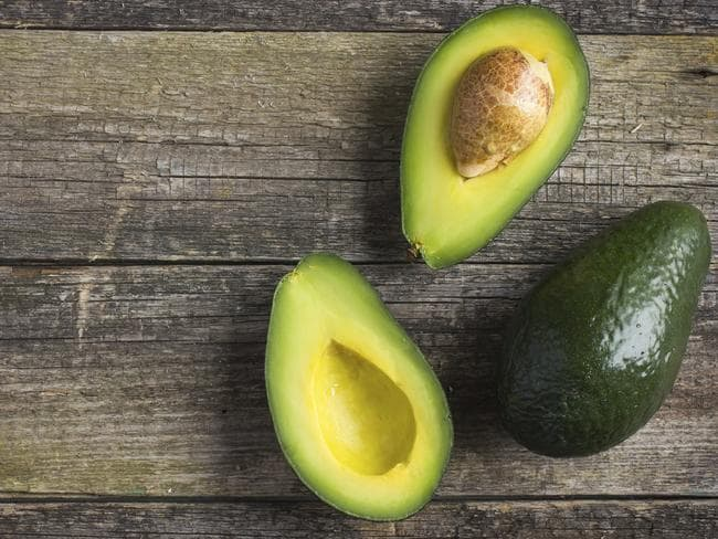 You should only consumer one quarter to one half of avocado each day. Picture: Supplied.