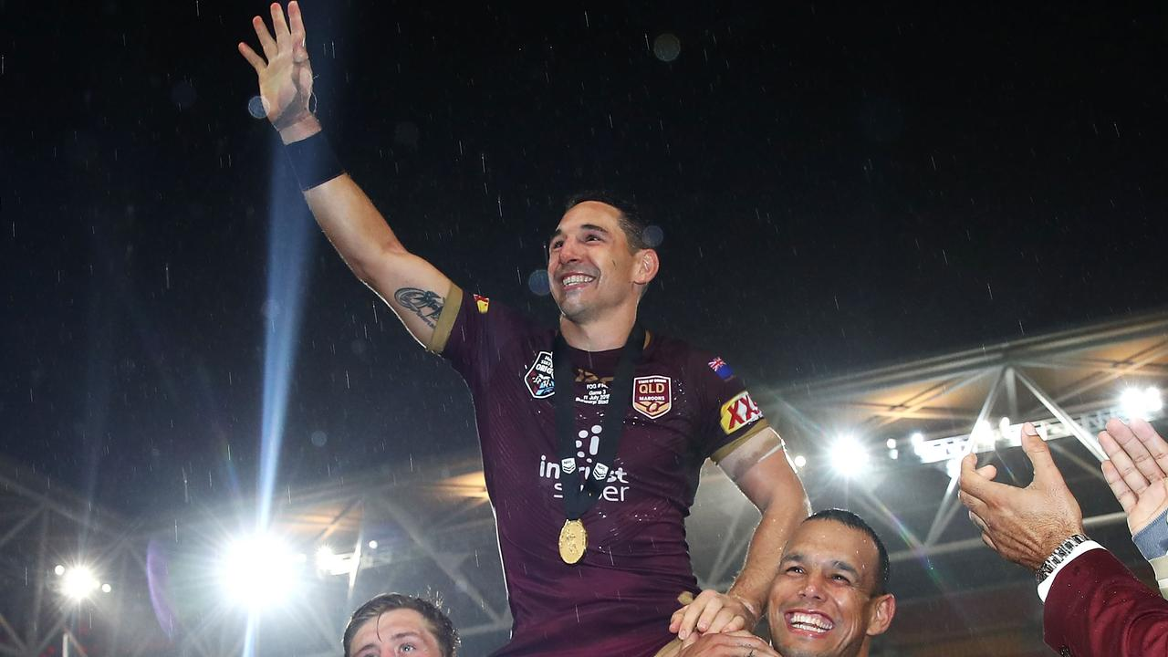A number of Queensland greats believe Billy Slater could be the next Maroons coach. (Photo by Mark Kolbe/Getty Images)
