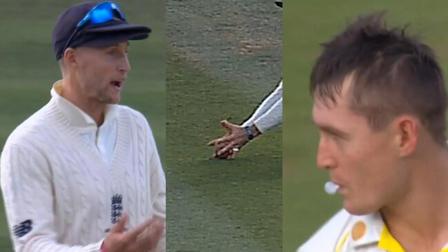 Labuschagne dismissed by controversial Root catch