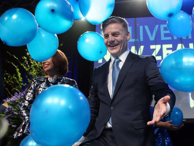 National Party leader Bill English.