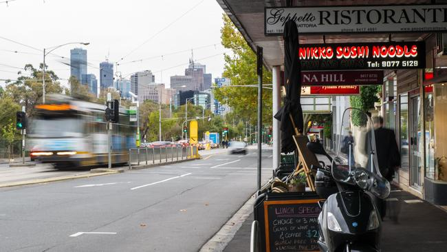 Proximity to transport and cafes is important.
