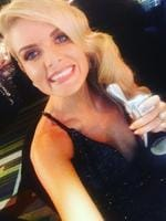 """Erin Molan ... """"Never taken for granted. We are so grateful. We have the best fans in the entire world hands down!!!!! @nrlfootyshow #logie xxx"""" Picture: Instagram"""