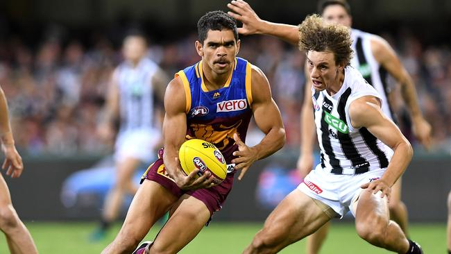 Brisbane will play an Easter Thursday blockbuster against Collingwood. Picture: Getty Images