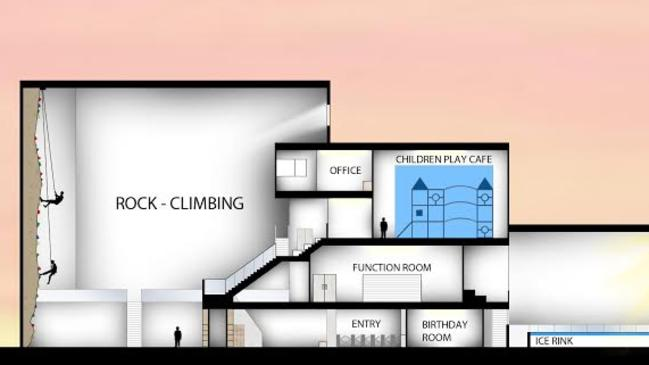 Ice Rinks Adelaide Plans To Build A Multi Purpose 35
