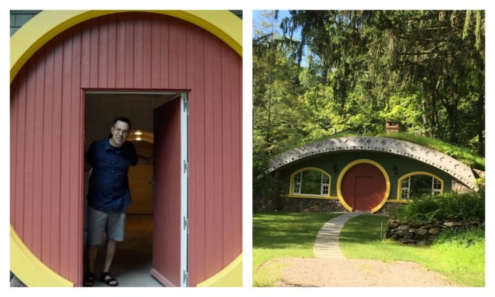Lord of the Rings fan builds epic Hobbit hole house