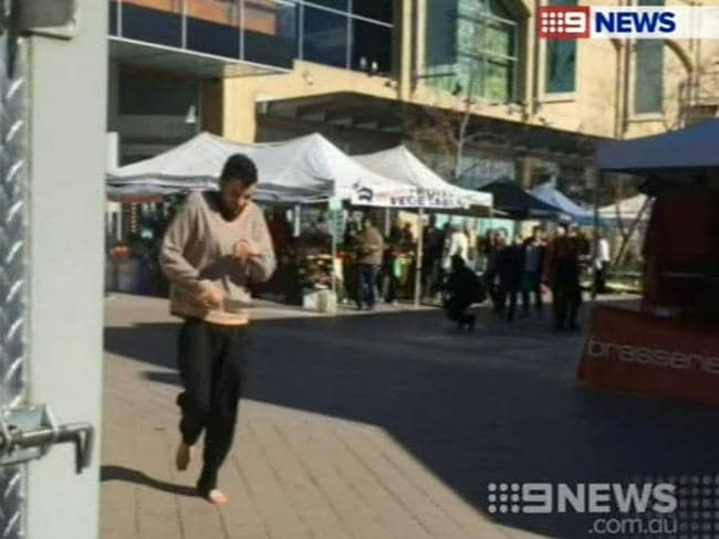 "A police officer who went through the same said he will never forget the ""sheer fear"". Picture: Channel 9"