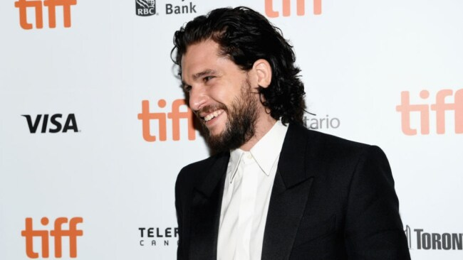 The gorgeous Kit Harrington walks the red carpet for his new film 'The Death and Life of John F. Donovan'. Image: Getty.