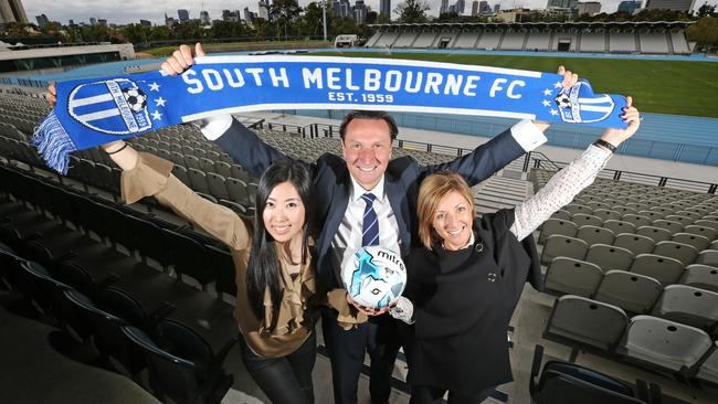 South Melbourne are pushing to become Victoria's third side in the A-League.