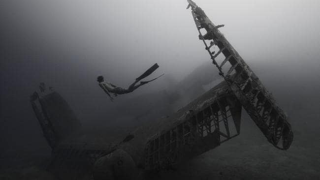 Diving around World War II-era ships.