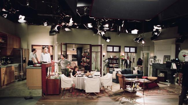 Will and Grace's apartment doesn't look so fancy now, does it?