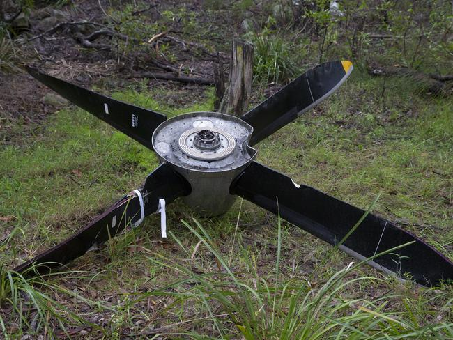 A propeller has been found in bushland off River Road in Revesby Heights NSW Australia.