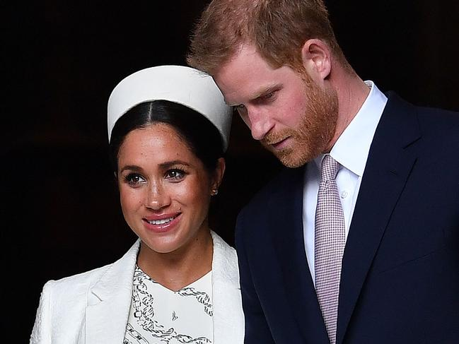 Meghan has already returned to Canada and dialled into the summit. Picture: Ben STANSALL / AFP.