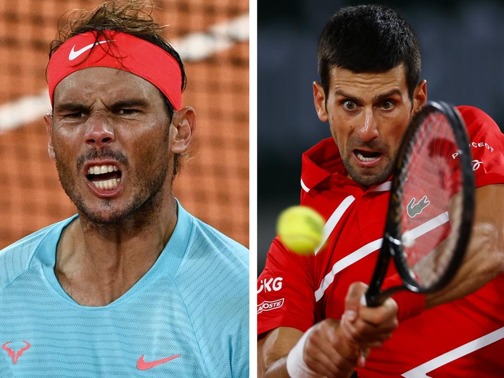 Either Rafael Nadal or Novak Djokovic will take a major step in the all-time Grand Slam race.