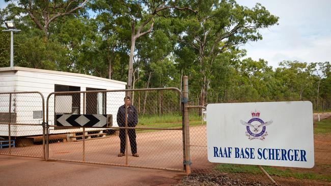 RAAF Base Scherger near Weipa in Cape York, on of Australia's three so-called bare bases that are mothballed with minimal staff. Picture: Cameron Laird