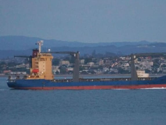 Two crew members on board the Sofrana Surville have tested positive to COVID-19.