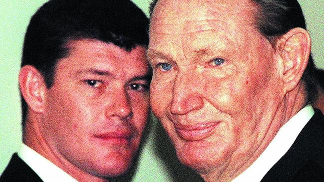 James Packer has lived his life in the shadow of his media mogul father Kerry.
