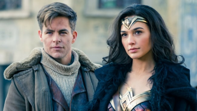 Chris Pine and Gal Gadot in Wonder Woman. Photo: Warner Bros