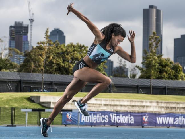 Morgan Mitchell has her eyes firmly set on Rio. Picture: Christopher Chan.