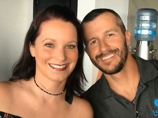 Chris and Shanann Watts. Picture: Facebook