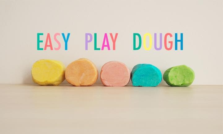 EASY PLAY DOUGH RECIPE 1000 X 600