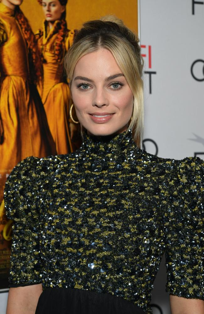 Margot Robbie pictured at the Chinese Theatre in Hollywood last week. Picture: Getty Images